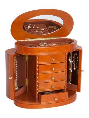 Trinity Wooden Jewelry Box 500047466693