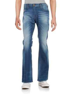Zathan 831D Faded Bootcut Jeans by Diesel