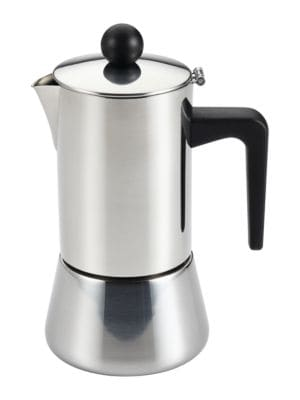 Stainless Steel Espresso Maker photo