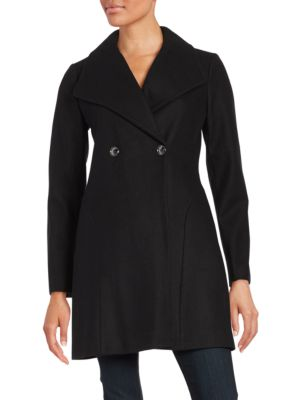 Wool Blend Classic Swing Coat by MICHAEL MICHAEL KORS