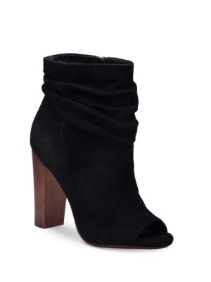 Buy Jessika Open Toe Suede Ankle Boots by Splendid online