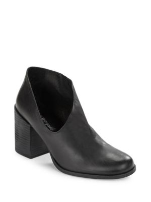 Terrah Modified Leather Booties by Free People