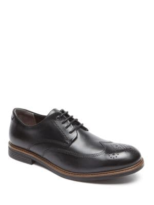 Classic Break Leather Wingtip Oxfords by Rockport