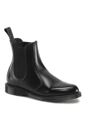 Flora Leather Chelsea Boots by Dr. Martens