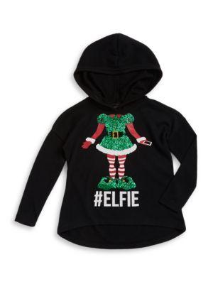 Elfie Hooded HiLo Top