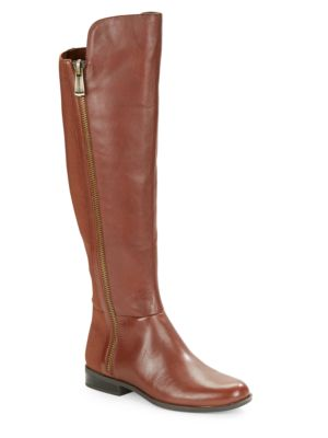 Camme Knee-High Leather Boots by Bandolino