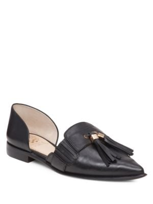 Buy Hollina dOrsay Leather Flats by Vince Camuto online