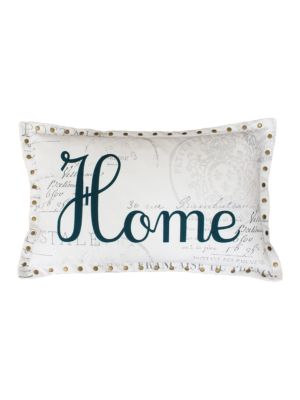 Harvest Home French Postcard Pillow