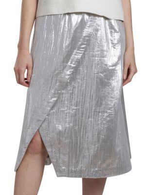 Geometry Wrap Skirt by Wray