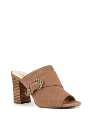 Buy Betty Suede Slip-on Sandals by Nine West online