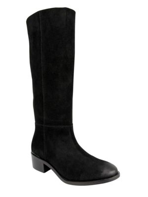 Stride Suede Tall Shaft Boots by Naughty Monkey
