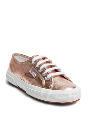 Superga 2750 Metallic Lace-up Sneakers by Superga
