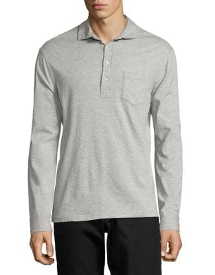 Supima Cotton Jersey Popover Shirt by Polo Ralph Lauren