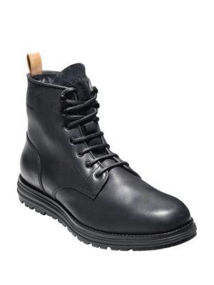 Lockridge Plain Toe Waterproof Boots by Cole Haan