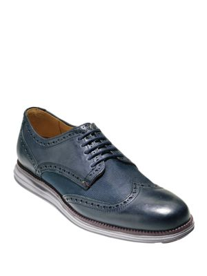 Original Grand Leather Wing Tip Oxfords by Cole Haan