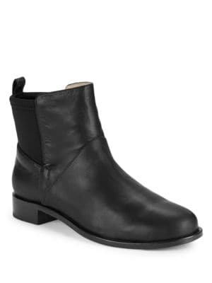 Harper Leather Booties by Matt Bernson