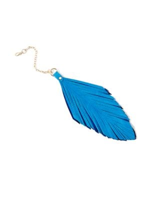 Feather-Inspired Bag...
