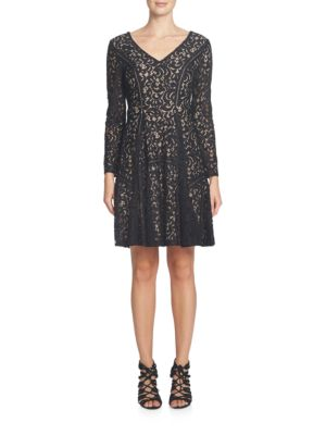 Claire Paisley Lace A-Line Dress by Cynthia Steffe