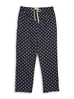 Logo Print Pajama Pants by Nautica