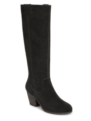 Festivities Suede Knee-High Boots by Aerosoles