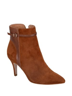 Radiant Suede Booties by Corso Como