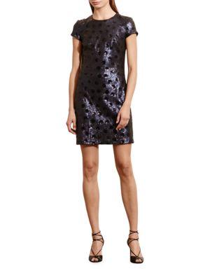 Polka-Dot Sequin Dress by Lauren Ralph Lauren