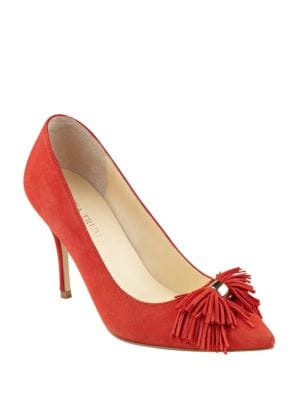 Tassel Fringe Point-Toe Pumps by Ivanka Trump