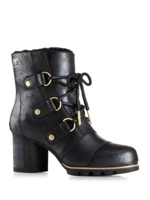 Addington Lace-Up Leather Boots by Sorel