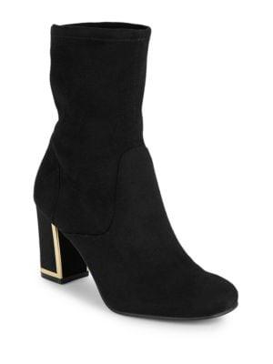 Buy Karelle2 Faux Suede Ankle Boots by Karl Lagerfeld Paris online