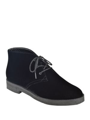 Buy Dixie Velvet Chukka Booties by Marc Fisher LTD online