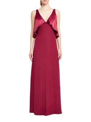 Cape Blouson Gown by Jill Jill Stuart