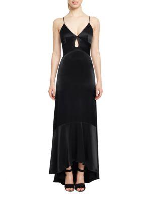 High-Low Cutout Gown by Jill Jill Stuart