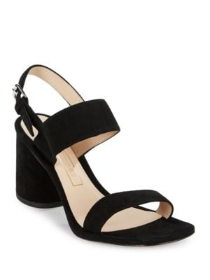 Emilie Suede Sandal Heels by Marc Jacobs