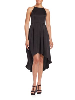 Strapless Puffed-Skirt Dress by Aidan Aidan Mattox
