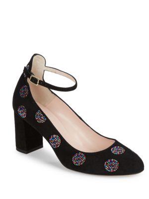 Aviana Embellished Suede Heels by Kate Spade New York