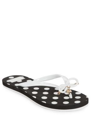 Buy Nova Polka Dotted Flip Flops by Kate Spade New York online
