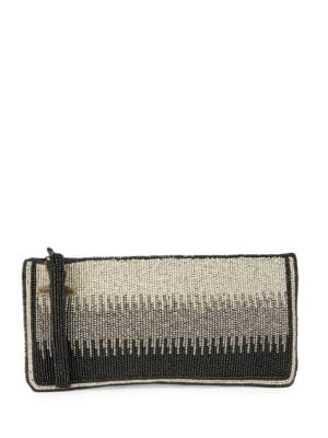 Beaded Convertible Clutch by Mary Frances