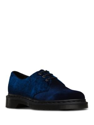 Brocade Velvet Oxfords by Dr. Martens