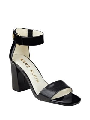 Buy Watchme Leather Sandals by Anne Klein online
