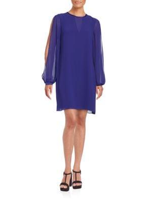 Split Sleeve Shift Dress by Vince Camuto
