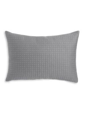 Alpine Meadow Quilted Metallic Dot Decorative Pillow
