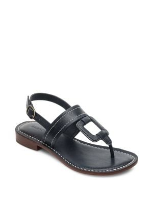 Buy Tegan Leather Wrapped Square Sandals by Bernardo online