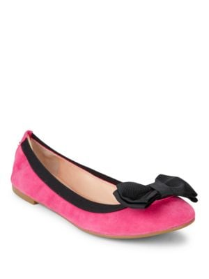 Wylie Too Colorblocked Suede Flats by Kate Spade New York
