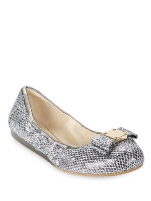 Tali Snake Embossed Ballet Flats by Cole Haan