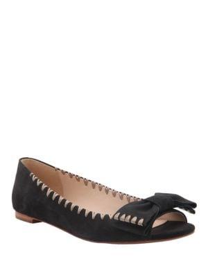 Sami Peep Toe Flats by Delman