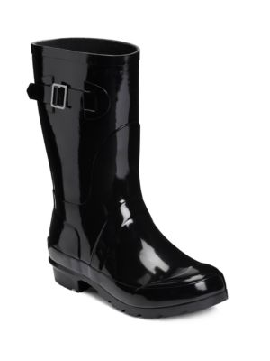 Rain Date Mid-Calf Rubber Boots by Aerosoles