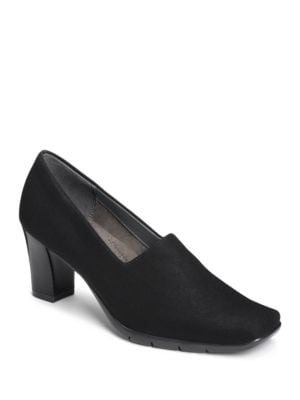 Monday Square Toe Pumps by Aerosoles