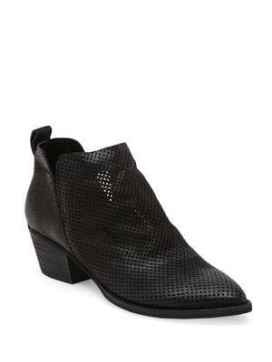 Sony Perforated Nubuck Booties by Dolce Vita