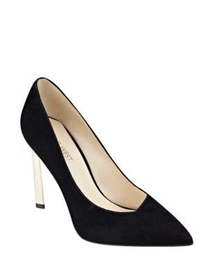 Kaylee Point Toe Suede Pumps by Nine West