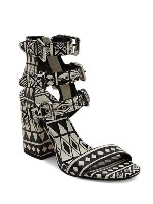 Edin Leather Block Heel Sandals by Dolce Vita